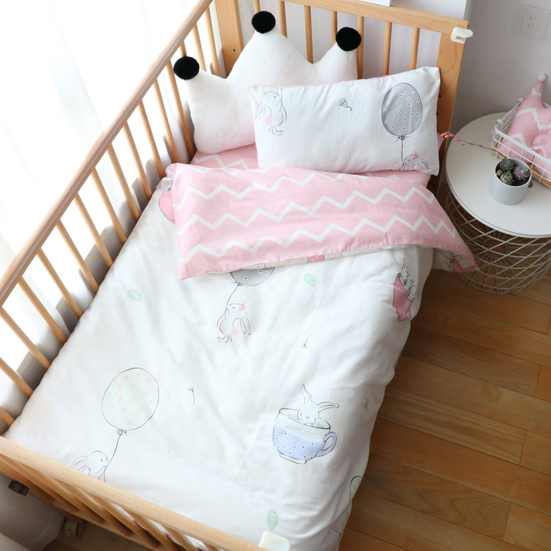 3Pcs Baby Bedding Set Cotton Crib Bed Linen Kid Duver Cover Pillowcase Bedsheet Or Custom Made Mattress Cover No Filler Boy Girl3Pcs Baby Bedding Set Cotton Crib Bed Linen Kid Duver Cover Pillowcase Bedsheet Or Custom Made Mattress Cover No Filler Boy Girl