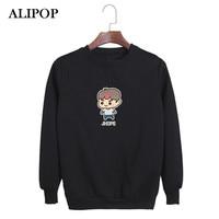 ALIPOP KPOP BTS Bangtan Boys WINGS Album YOU NEVER WALK ALONE Cartoon Cotton Hoodies Clothes Pullovers