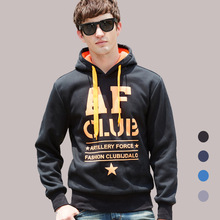 Autumn Fashion Men Hoodies Jacket Man Casual Slim Hoody Sweatshirt Sportswear Pullover Hoodie