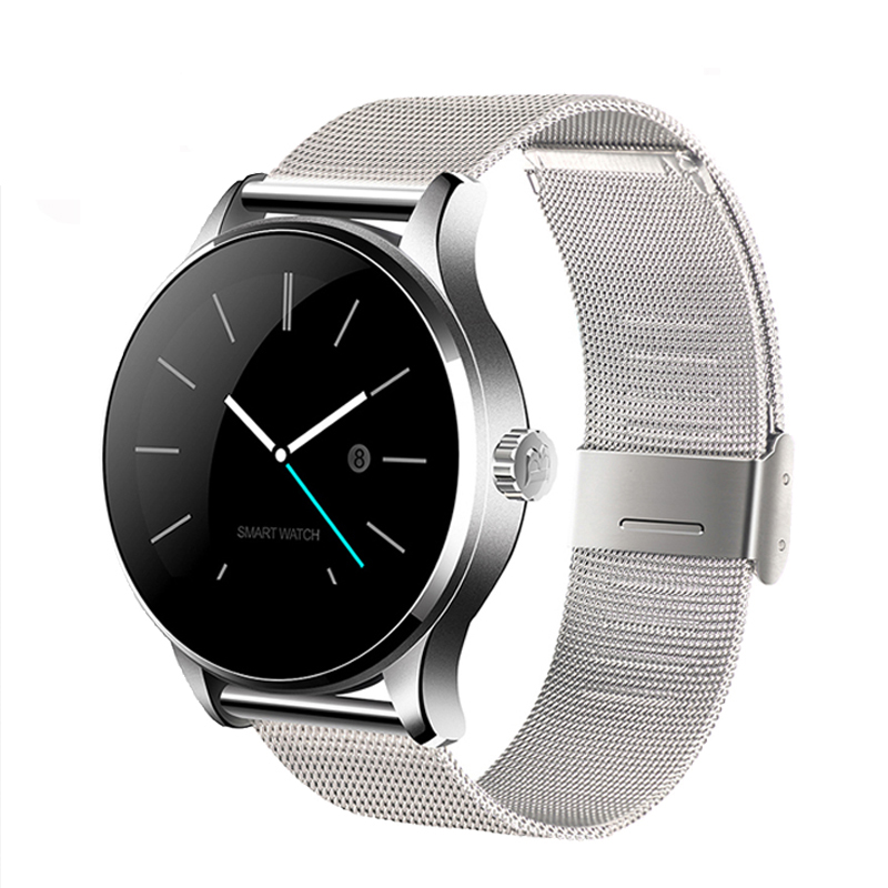 K88H Smart Watch IPS Round Screen Support Heart Rate Monitor Bluetooth SmartWatch For apple huawei IOS Android bluetooth smart watch heart rate monitoring g3 plus smartwatch support siri voice control raise bright screen for android ios