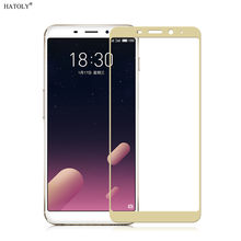 2pcs Screen Protector Glass Meizu M6s mblu S6 2.5D Tempered Glass Meizu M6s Glass Full Coverage Glass Film For Meizu M6s HATOLY(China)