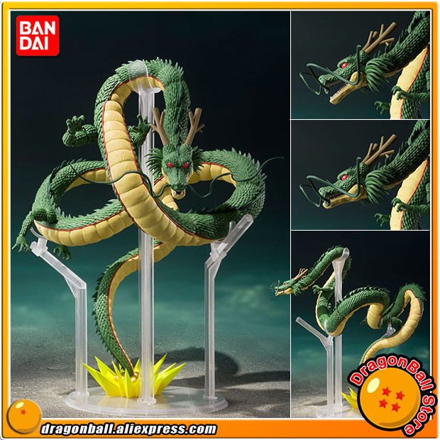 Japan Anime Dragon Ball Z Original BANDAI Tamashii Nations S.H. Figuarts / SHF Action Figure - Shenron genuine bandai exclusive tamashii nation 10th anniversary s h figuarts dragon ball z son gokou goku kaiohken ver action figure