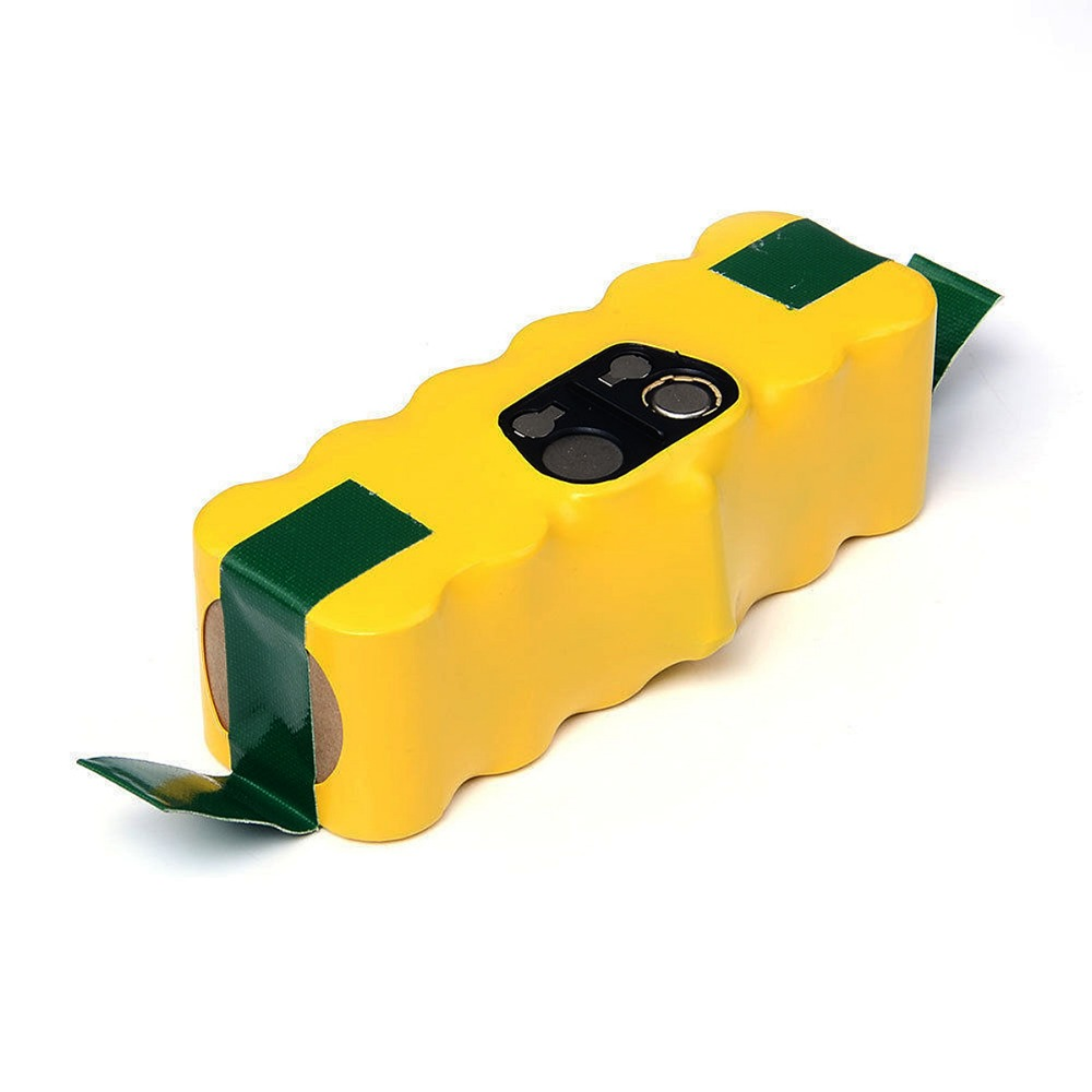 ФОТО For iRobot Roomba FLOUREON 14.4V 3500mAh Ni-MH Vacuum Cleaner Rechargeable Battery Pack Replacement for 500 550 560 780 VES32T35