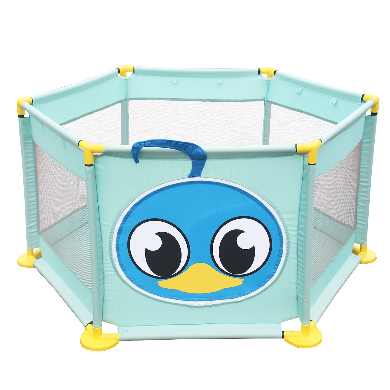 Children Playpen Baby Game Fence Ocean Balls Pool Baby Play Yard Kids Safety Fence Folding Portable Travel Baby Activity Playpen цены онлайн