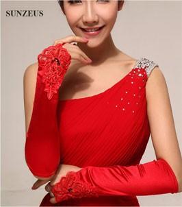 bridal gloves 9