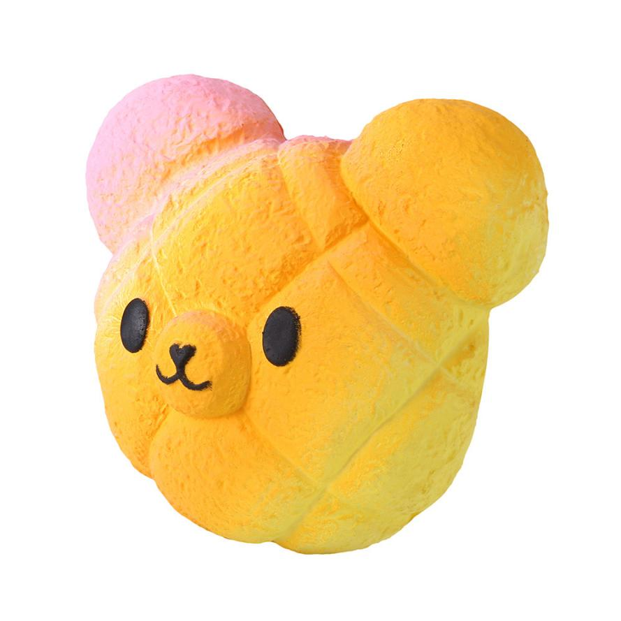 Original Kawaii Kawaii Cartoon Galaxy Bear Squishy Slow Rising Cream Scented Stress Reliever Toy   Collection Cure Gifts 7.4 #3