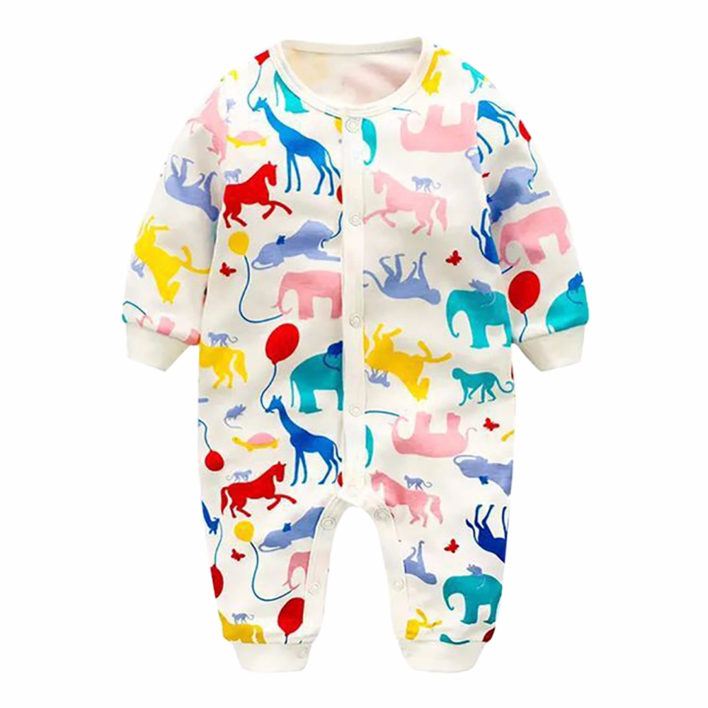 Lovely Baby Rompers Long Sleeve Baby Girl Clothing Jumpsuits Children Clothing Newborn Baby Clothes Cotton Baby Rompers newborn baby rompers baby clothing 100% cotton infant jumpsuit ropa bebe long sleeve girl boys rompers costumes baby romper