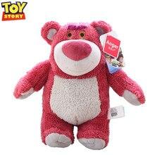 Disney juguete historia 4 juguetes Pixar de fresa oso Lotso Woody Buzz Lightyear Forky juguete historia modelo de juguete para el regalo de los niños