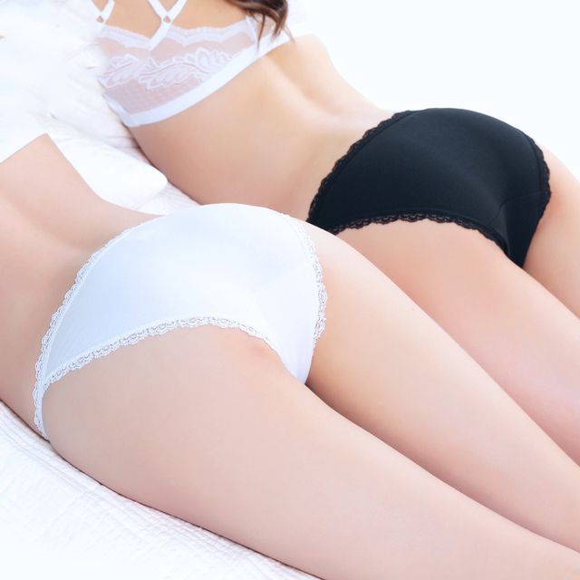 Sexy Women's Cotton G-String Thong Panties String Underwear Women Briefs Sexy Lace Lingerie Pants Intimate Ladies Bow Low-Rise women's panties