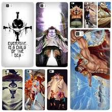 One piece White beard flag Design Clear Case Cover Coque Shell for Huawei P10 P9 P8 Lite Mate S 7 8 9 10 Plus