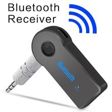 Quality Bluetooth AUX Audio 3.5MM Jack Music Bluetooth Receiver Car Kit Wireless Speaker Headphone MP3 Music Adapter Hands Free цена