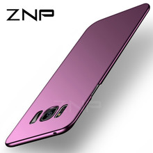 ZNP Fashion Hard Matte Case For Samsung Galaxy S8 S9 Plus Note 8 Phone Case 360 Full Cover PC For Samsung Note 8 S9 S8 Plus Case