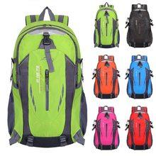 40л 6 цветов открытый спортивный альпинистский рюкзак Кемпинг Туризм Треккинг Рюкзак Путешествия Водонепроницаемый чехол велосипедные сумки