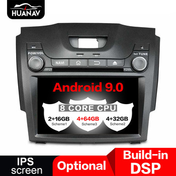 DSP Android 9.0 Car GPS Navigation DVD player For Chevrolet S10 ISUZU D-MAX 2012+ auto stereo head unit radio multimedia player