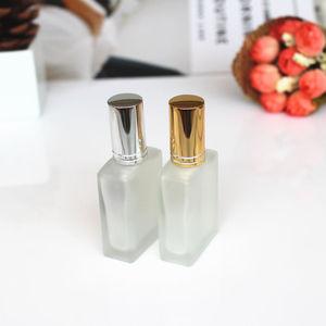 Image 5 - 1PC de 15ml de vidrio esmerilado frascos de perfume vacíos atomizador en spray botella recargable botella de perfume caso con tamaño de viaje portátil