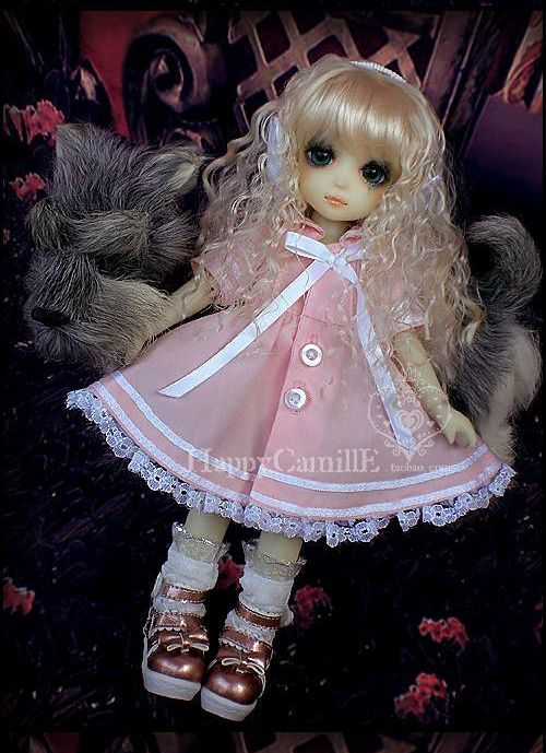 1/6 scale BJD doll clothing Cute dress for BJD YOSD accessory.Not included doll,shoes,wig and other 17C3428 uncle 1 3 1 4 1 6 doll accessories for bjd sd bjd eyelashes for doll 1 pair tx 03