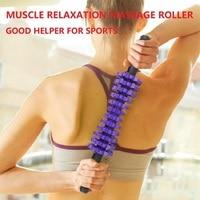 Massage stick muscle stimulator body massager leg back massage roller 42.7X7cm Massage Relaxation Free shipping RuiTong Brand