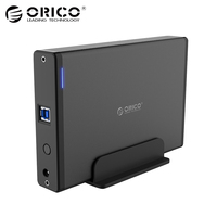 ORICO 3 5 Inch Hard Drive HDD Enclosure USB3 0 To SATA3 0 HDD Case Docking