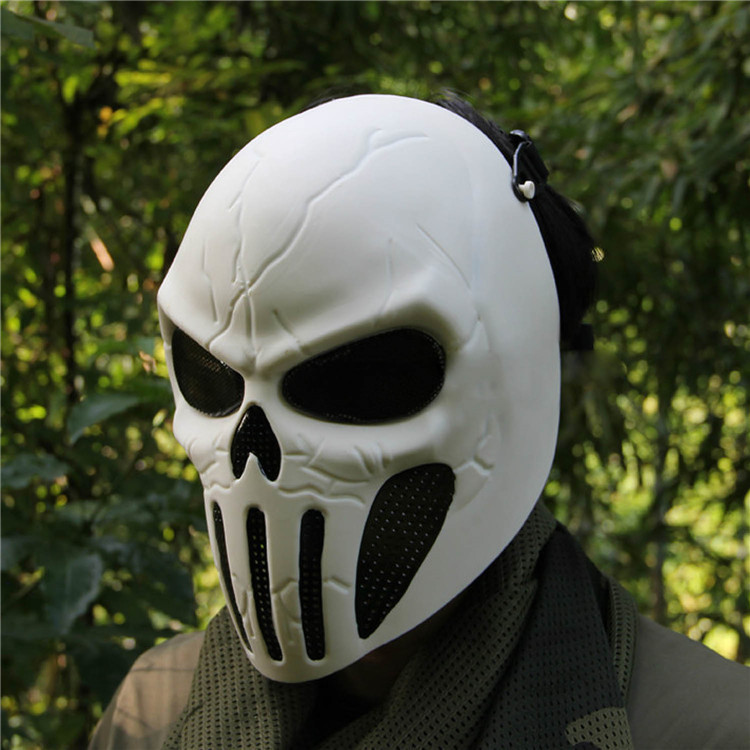 Good Chastener Ear-protective Mask CS Airsoft Paintball Full Face Mask Halloween Wargame Field game Cosplay Movie Prop Mask