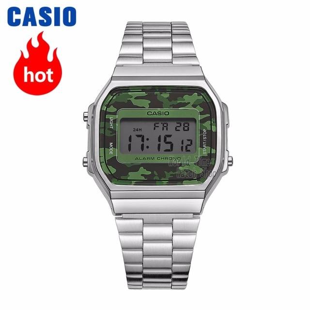 e42f393fca9 Casio relógio Analógico esportes relógio de quartzo Dos Homens e das  mulheres moda casual retro neutro