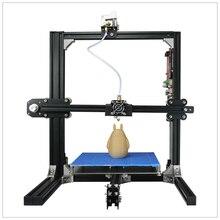 2017 Горячих Профессиональное Изготовление 200*280*230 мм 1.75 мм PLA ABS Нити DIY Модель 3D Металл Принтер пластичный Материал