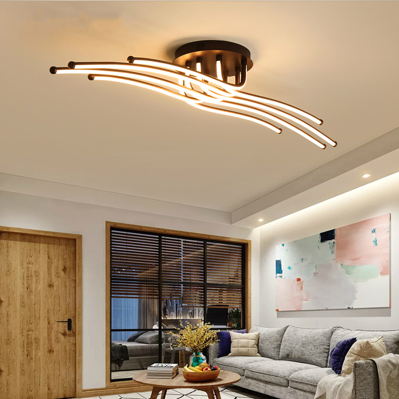 Modern LED Ceiling lights home luminaires Novelty Aluminum dining fixtures living room ceiling lamps bedroom Ceiling