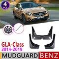 Брызговик для Mercedes Benz gla класса W156 2014 ~ 2019 180 200 220 250 260 45 AMG крыло брызговик всплеск откидная крышка аксессуары