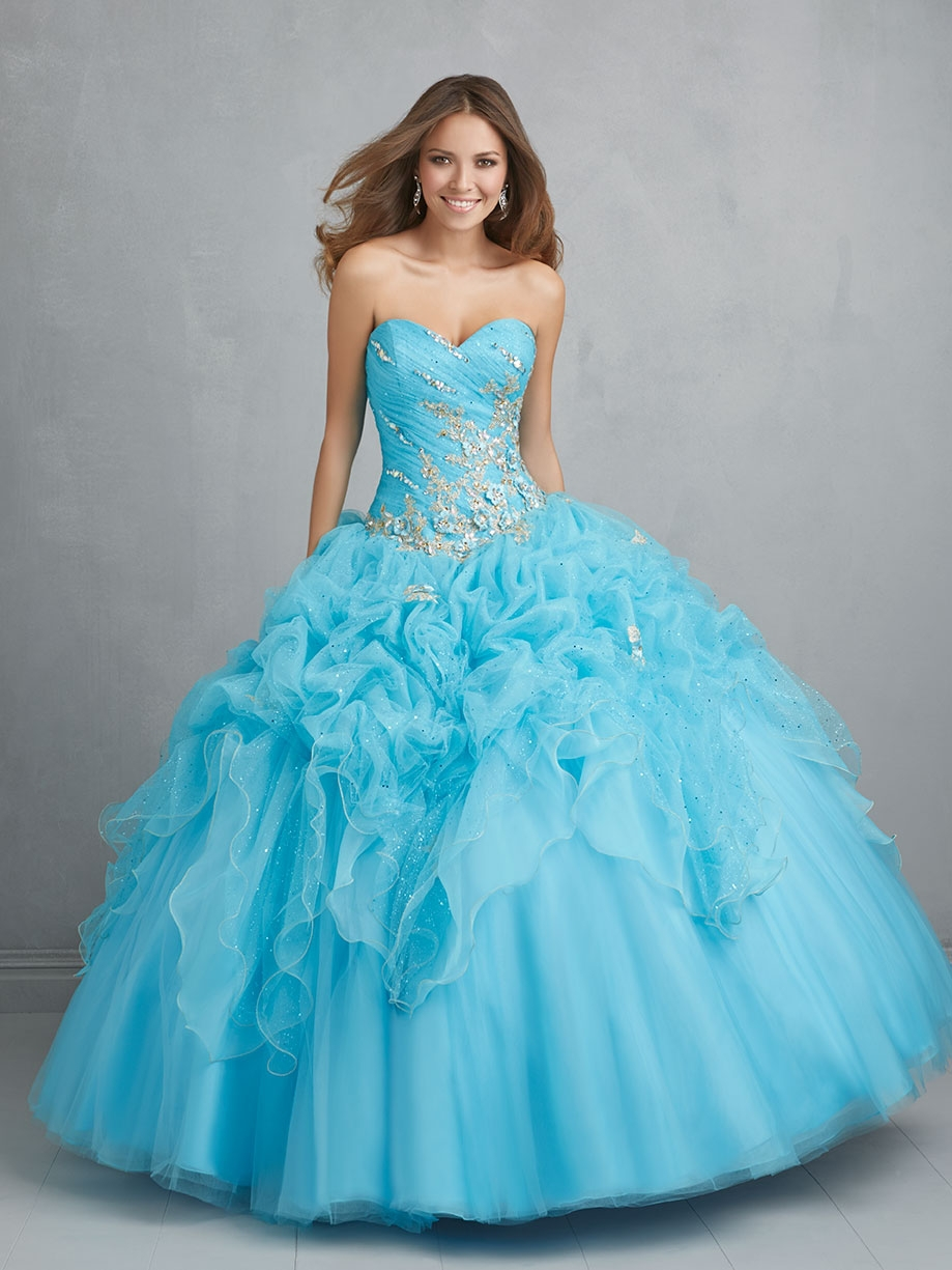 Images of Poofy Prom Dress - Reikian