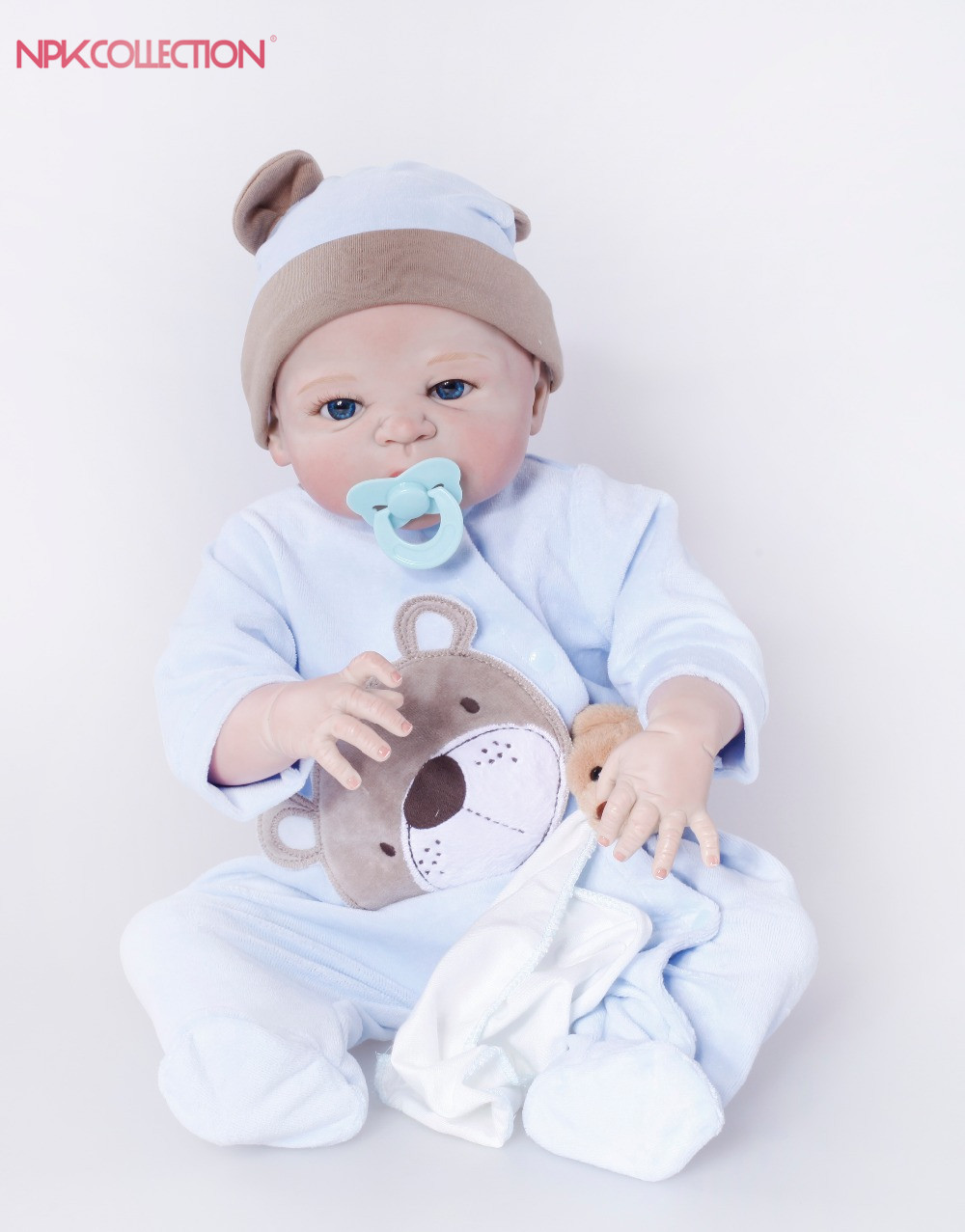 NPK Reborn Baby Dolls Realistic 23 inch Baby Dolls Alive Reborns Toddler bebe Washable Toy For kids Gifts npk hot sale reborn baby dolls realistic girl princess 23 inch baby dolls alive reborns toddler bebe washable toy for kids gifts