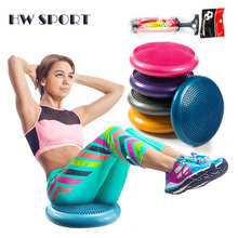 Inflated Stability Wobble Cushion, Balance Disc Trainer 13