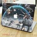 Звездные войны Стиль Передняя Обложка Кожи для Ноутбука Наклейка для Apple MacBook наклейка Air Pro Retina 11 13 15 Mac Ноутбук Красочные Наклейки