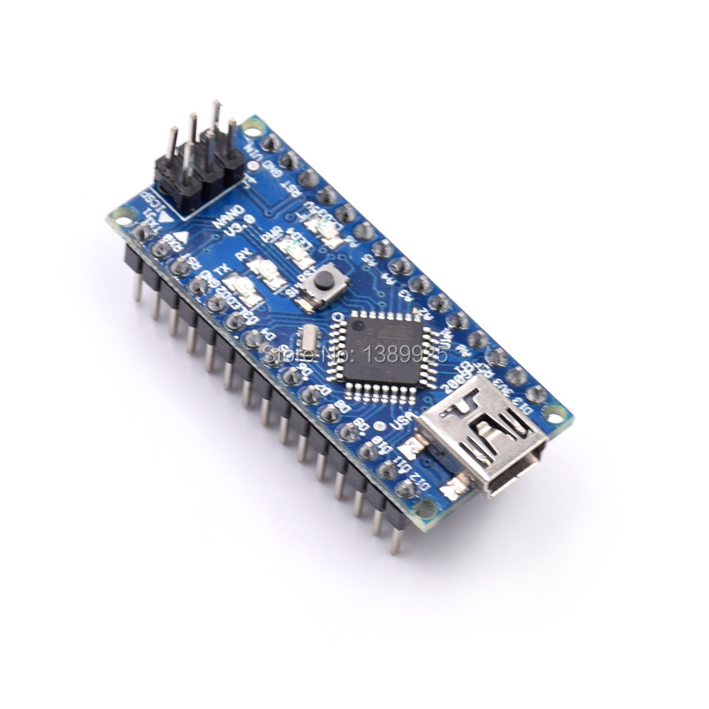5pcs/lot Original Nano 3.0 Atmega328 Mini Version FT232RL Imported Chips Support Win7 Win8 For Ar-duino