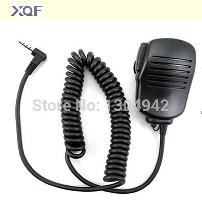 Handheld Speaker Mic 1pin  Walkie Talkie Hand Microphone For Yaesu Vertex VX-1R/2R/3R/5R/VX168/VX160/FT60R Two Way Radio