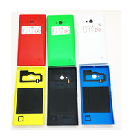 Original New   Mobile     Phone   For Nokia Lumia 730 735 Battery Cover Case Back   Housing   With Power Volume Buttons