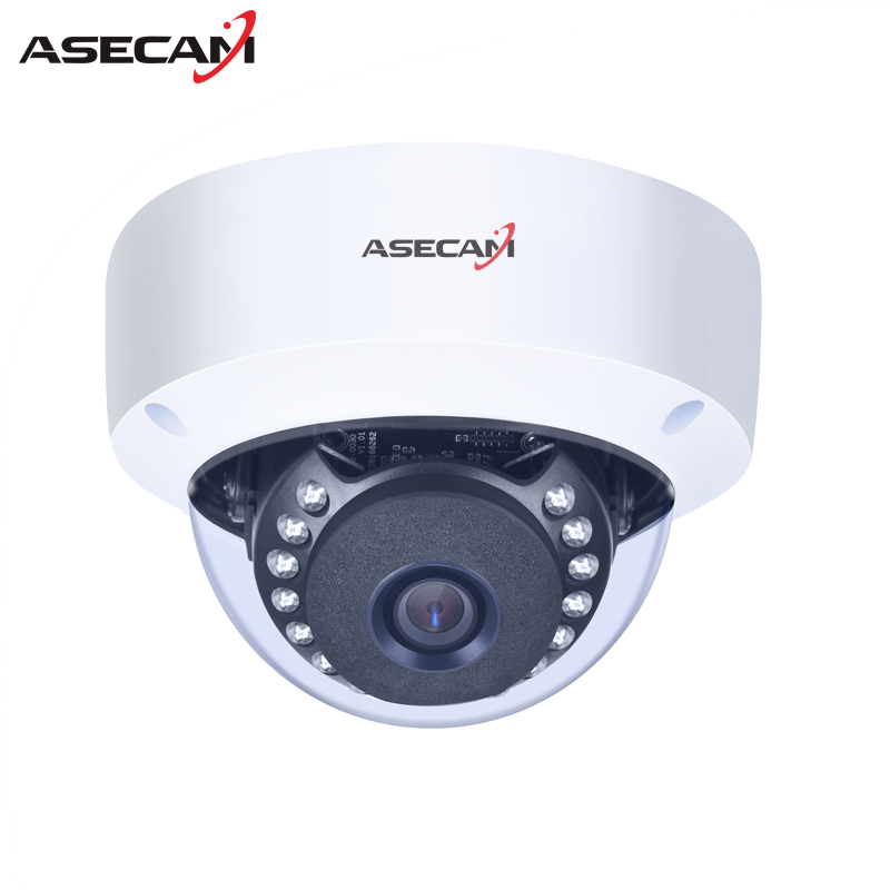 New Full HD 1080P IP Camera Security Home Hi3516C indoor Metal Dome Waterproof cam CCTV Onvif P2P Surveillance 48V poe new waterproof ip camera 720p cctv security dome camera video capture surveillance hd onvif cctv infrared ir camera outdoor