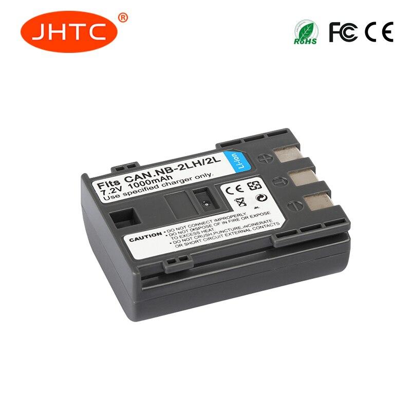 JHTC 1 Pc 1000 mAh NB-2L NB 2L NB2L NB-2LH NB 2LH NB2LH Numérique caméra Batterie Pour Canon Rebel XT XTi 350D 400D G9 G7 S80 S70S30