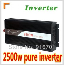 2500W 96V/110VDC 100/110/120VAC or 220/230/240VAC Pure Sine Wave PV Inverter Off Grid Solar& Wind Power Inverter PV Inverter