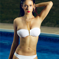 2016 new Sexy body jewelry Multilayer tassel necklace gold plated waist chain Swim Beach Bikini body chain accessories C035