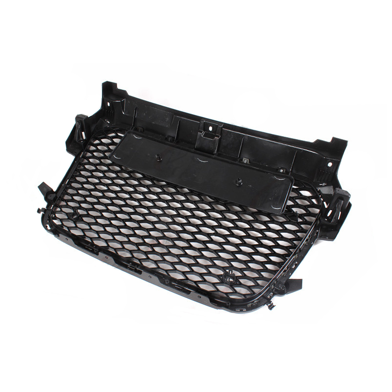 For audi A1 2011 2014 RS1 Style black Front mesh Grill Grille Auto Car Bumper Mesh