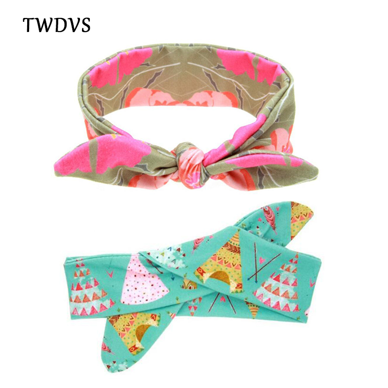 TWDVS DIY Flower Headband Kids Cotton Elastic Hair Band Newborn Ring Wrap Hair Accessories Can Adjusted Girls Headwear W270 bebe girls flower headband four felt rose flowers head band elastic hairbands rainbow headwear hair accessories