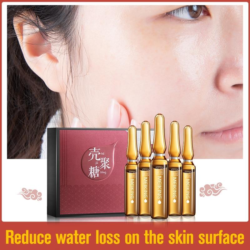 MEIKING Face Serum Moisturizing Essence Whitening Facial Cream Skin Care Acne Treatment Anti-wrinkle shrink pore Beauty10PCS new