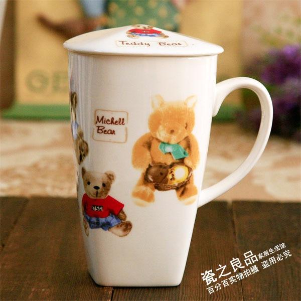 free shipping Bone china cup mug cup with big capacity conference cup dropshipping