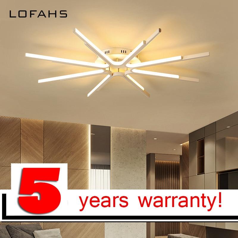 Modern LED ceiling chandelier Unique design Plane radiation LED chandelier home flush mount home lighting 5/6/8 arm lamp