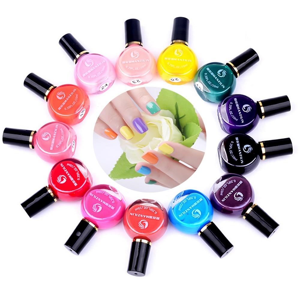 Hot 26 Warna 1 Piece Permen Warna Nail Art Stamping Polish wanita Perawatan  Kecantikan DIY Holograph UV Lampu Gel Nail Lacquer Cepat kering fdc48a76f2