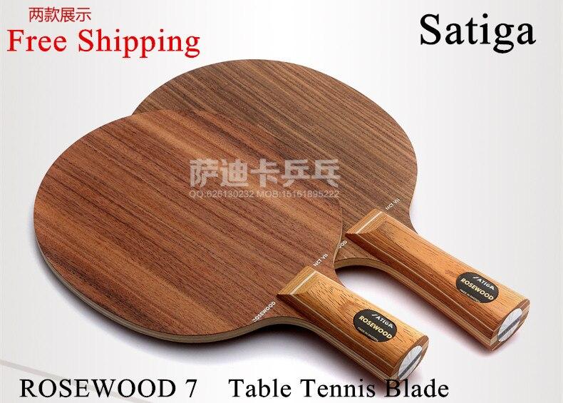 ФОТО Rosewood-SEVEN(Rose-7) Table Tennis Blade table tennis racket ping pong FL long handle shakehand free shipping