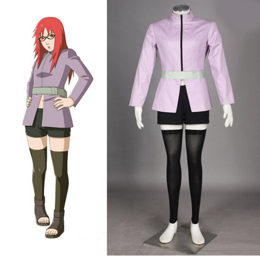 Anime Naruto Uzumaki Karin Cosplay Costume Halloween Costumes/Suits