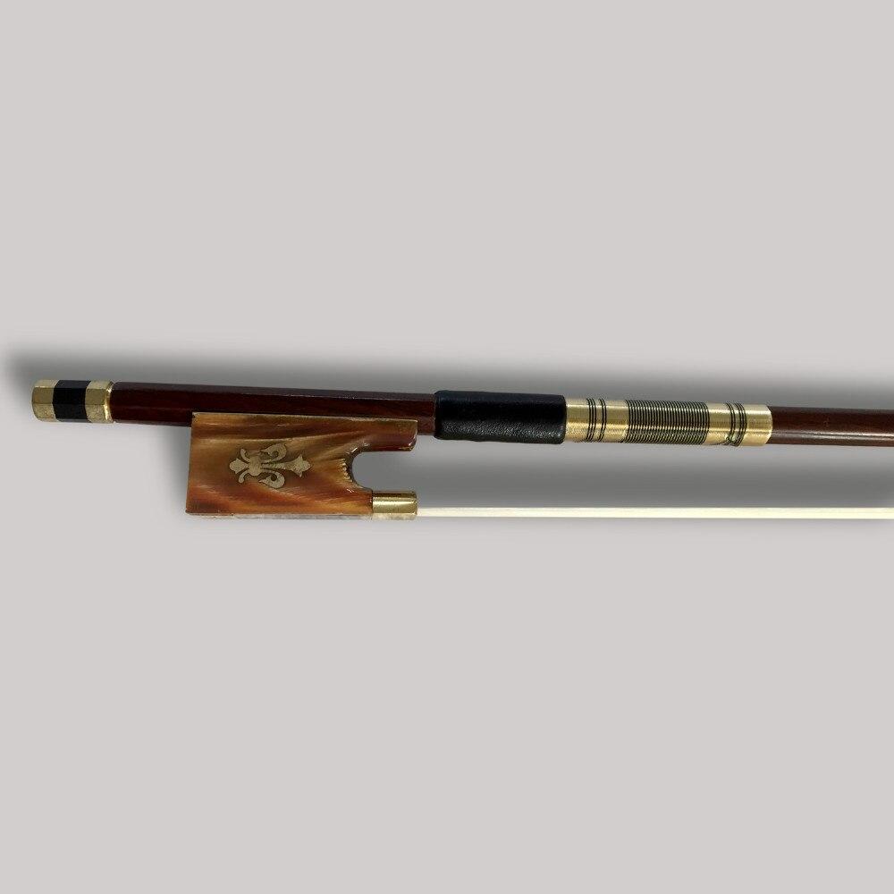 Prachtige strijkstrik 4/4 Brazilie Houten ebbenhouten kikker - Muziekinstrumenten - Foto 2