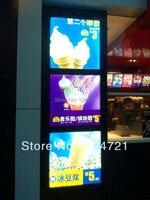 슈퍼 슬림 led 광고 메뉴 보드 라이트 박스  a2 스냅 프레임 무료 배송|LED 모듈|등 & 조명 -