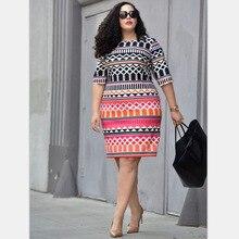 Womens spring diamond print fashion large size womens clothing