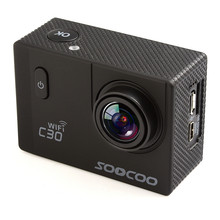 C30 Action 4K Sport Camera with remote control, NTK96660 Waterproof Wifi Gyro 70-170 Degrees Adjustable Action sports Cam